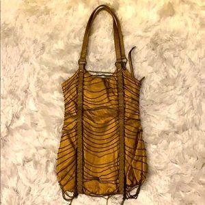 Bronze Chained Fashion Handbag